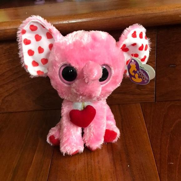 0ff01ee35ac Elephant Valentine Beanie Boo